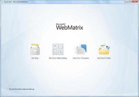 מדריך WebMatrix CSHTML