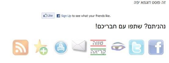 וורדפרס תוספים בעברית