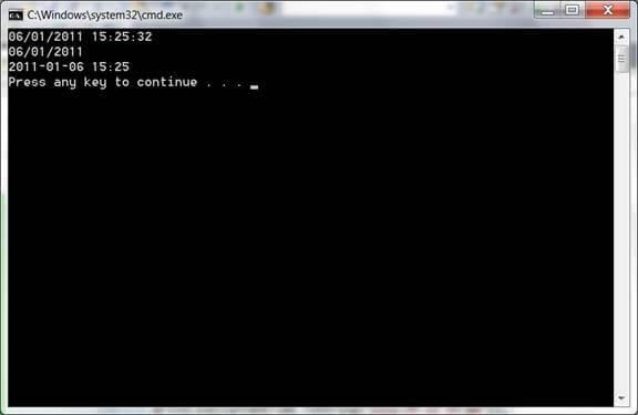 מדריך #C - עבודה עם DateTime