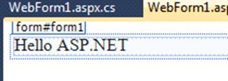 ASPNET - פקד Label