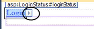 ASPNET - פקד LoginStatus