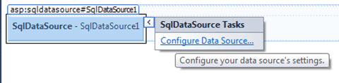 ASPNET - הגדרת DataSource