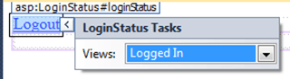 ASPNET - פקד LoginStatus במצב Logged Out