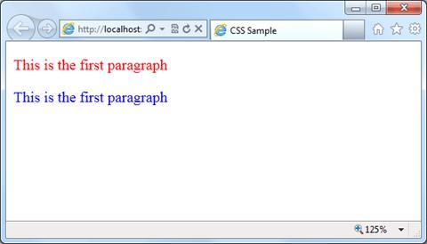 CSS סלקטורים