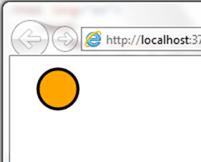 עיגול ב-SVG