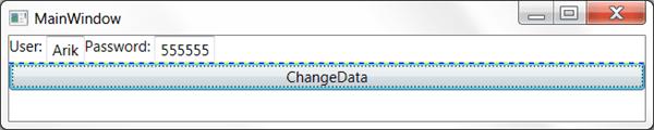 מדריך WPF – שימוש ב Data Binding: שימוש ב INotifyPropertyChange