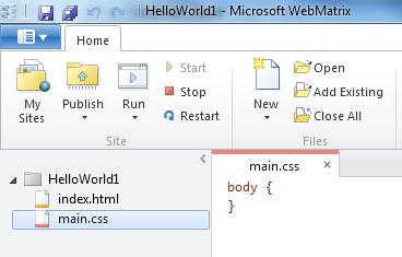 הוספת CSS  ל- HTML