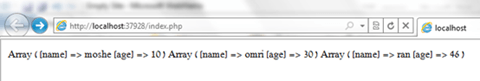 MS SQL result