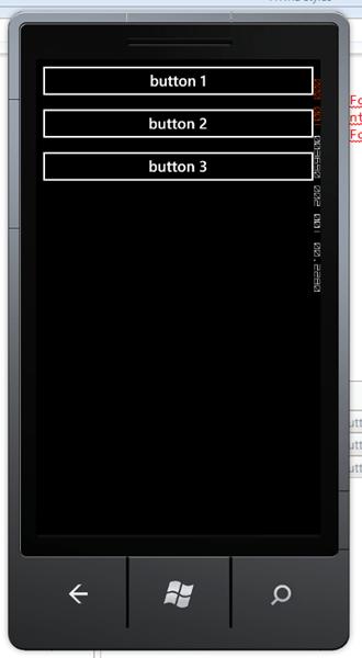 מדריך Windows Phone – סידור פקדים: StackPanel