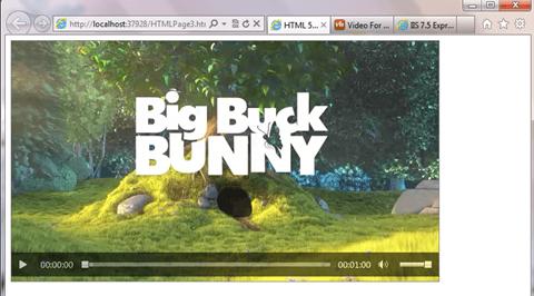 HTML 5 video