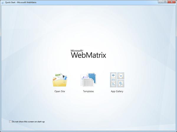 וורדפרס WebMatrix וובמטריקס