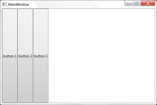 מדריך WPF – סידור פקדים: StackPanel & WrapPanel