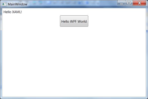 מדריך WPF – שפת XAML