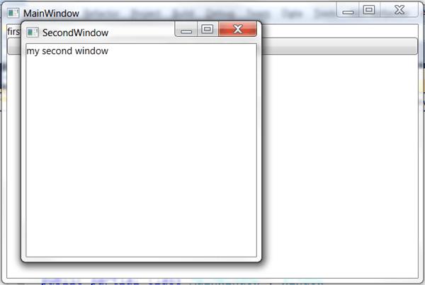 מדריך WPF – הוספת חלונות חדשים