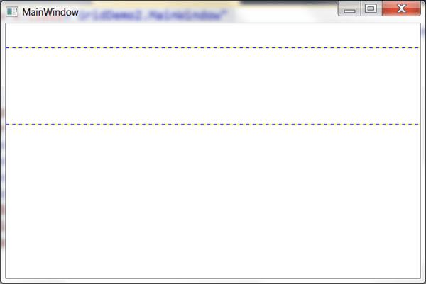 מדריך WPF – סידור פקדים: Grid