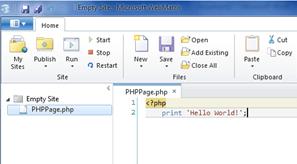 בניית אתר בסיסי PHP