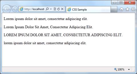 טקסט CSS text-align text-indent text-transform text-decoration טקסט