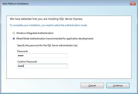 Visual Studio Express - הזנת שם משתמש וסיסמא עבור מסד הנתונים