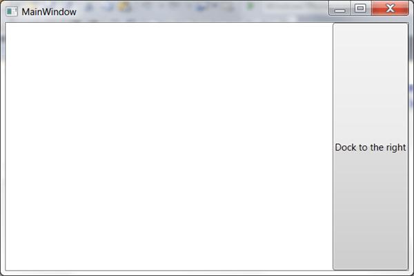 מדריך WPF – סידור פקדים: DockPanel